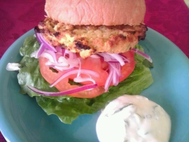 レシピとお料理がひらめくSnapDish - 5件のもぐもぐ - Red lentil burger by Culinary Kisses
