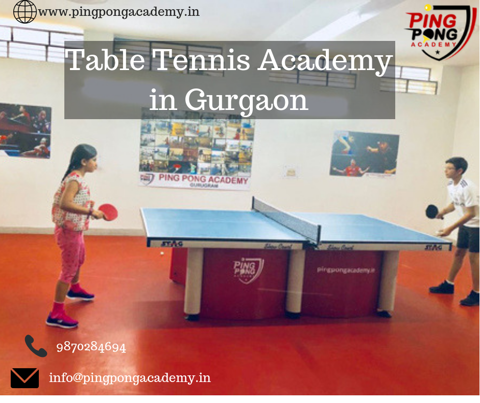 Join Ping Pong Academy And Learn The Correct Technique For