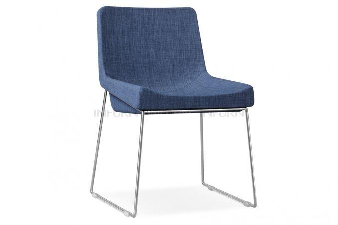 Esszimmer-Stuhl in Grau