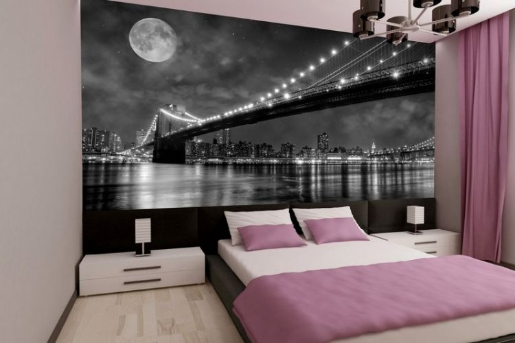 Chambre Style New York Idees A Theme Londres Et Voyages