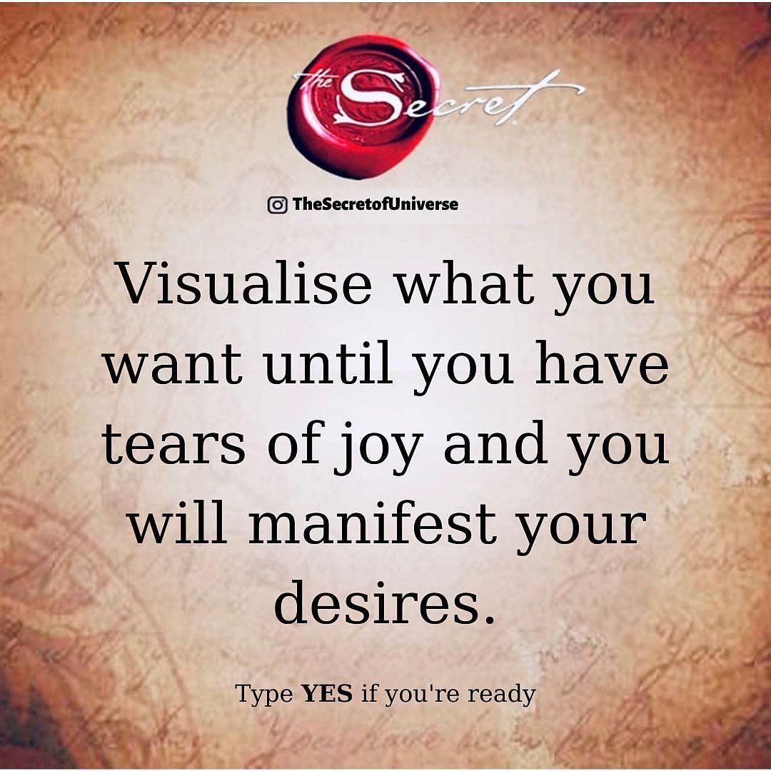 Secret Quote, Law of Attraction, Manifest desire V
