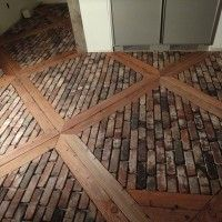 Home Flooring Ideas, a great way to recycle & have beautiful unique floors, plus save money!!
