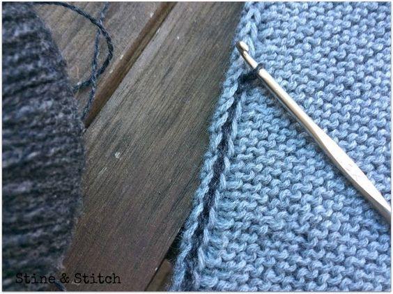 ... sie sind praktisch, chic und im Herbst und Winter mein täglicher Begleiter. Am liebsten stricke ich sie ohne Muster, einfach kraus recht... #strikkedesjaler