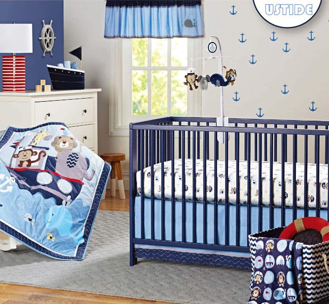 Pin On Nautical Baby Nursery Decor Ideas
