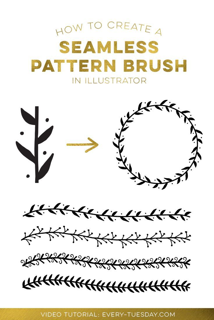How to Create a Seamless Pattern Brush in Illustrator
