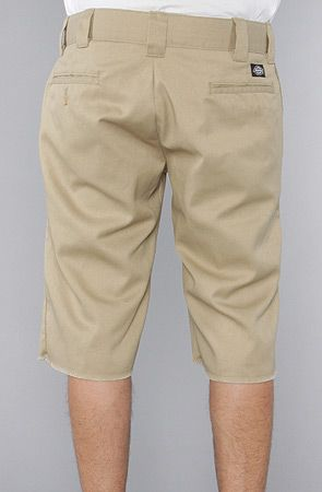 Dickies The Slim Fit Cut Off Shorts in Khaki   Karmaloop.com - Global  Concrete Culture 81669e84590e8