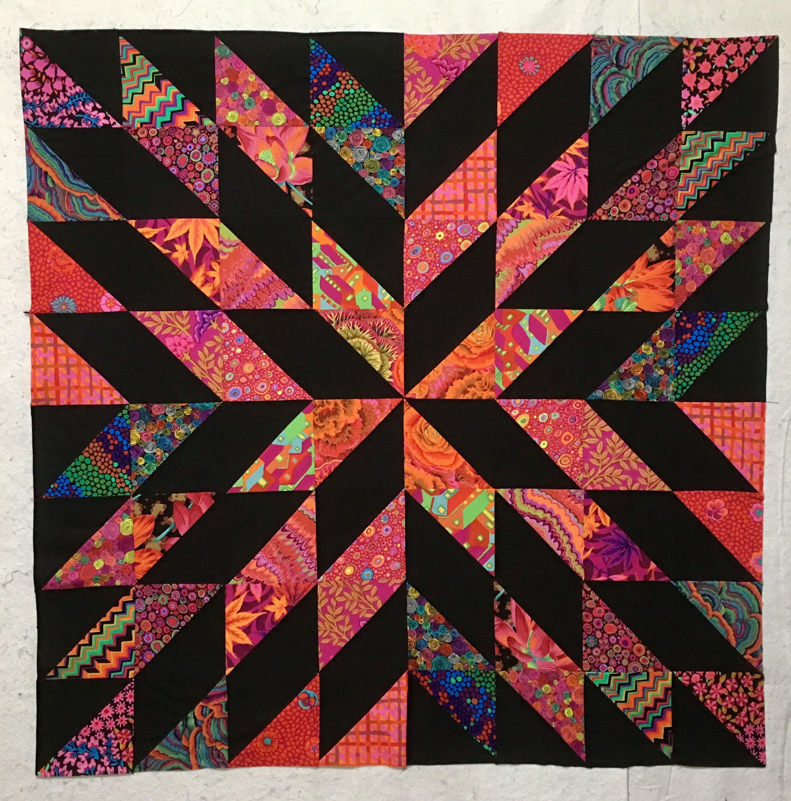Starburst Quilt Top What An Easy Pattern Quilts