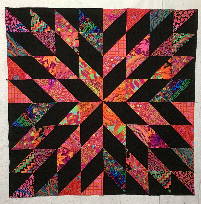Starburst Quilt Top What An Easy Pattern Quilting Pinterest