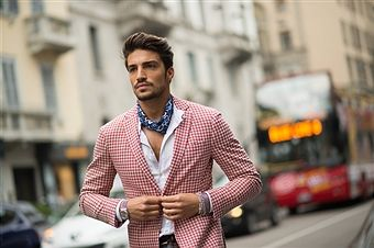 Milan Fashion Week Men street style Autumn/Winter 2014/2015 #trend #catwalk #clothes #model #fashion #week #fashionweek