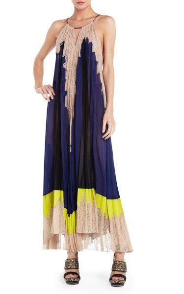 Bcbg evening dresses online runway brieena sleeveless long dress ...