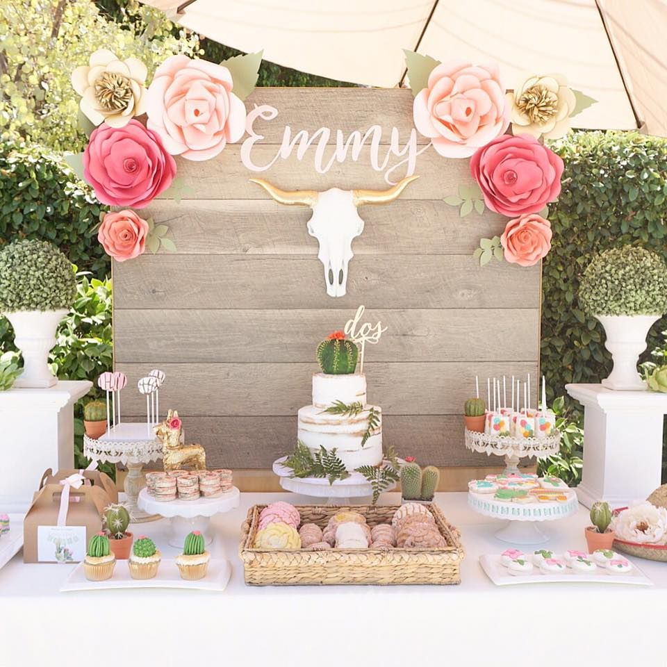 Rustic Mexican Wedding Theme: Darling Mexican Fiesta Birthday Party Inspiration