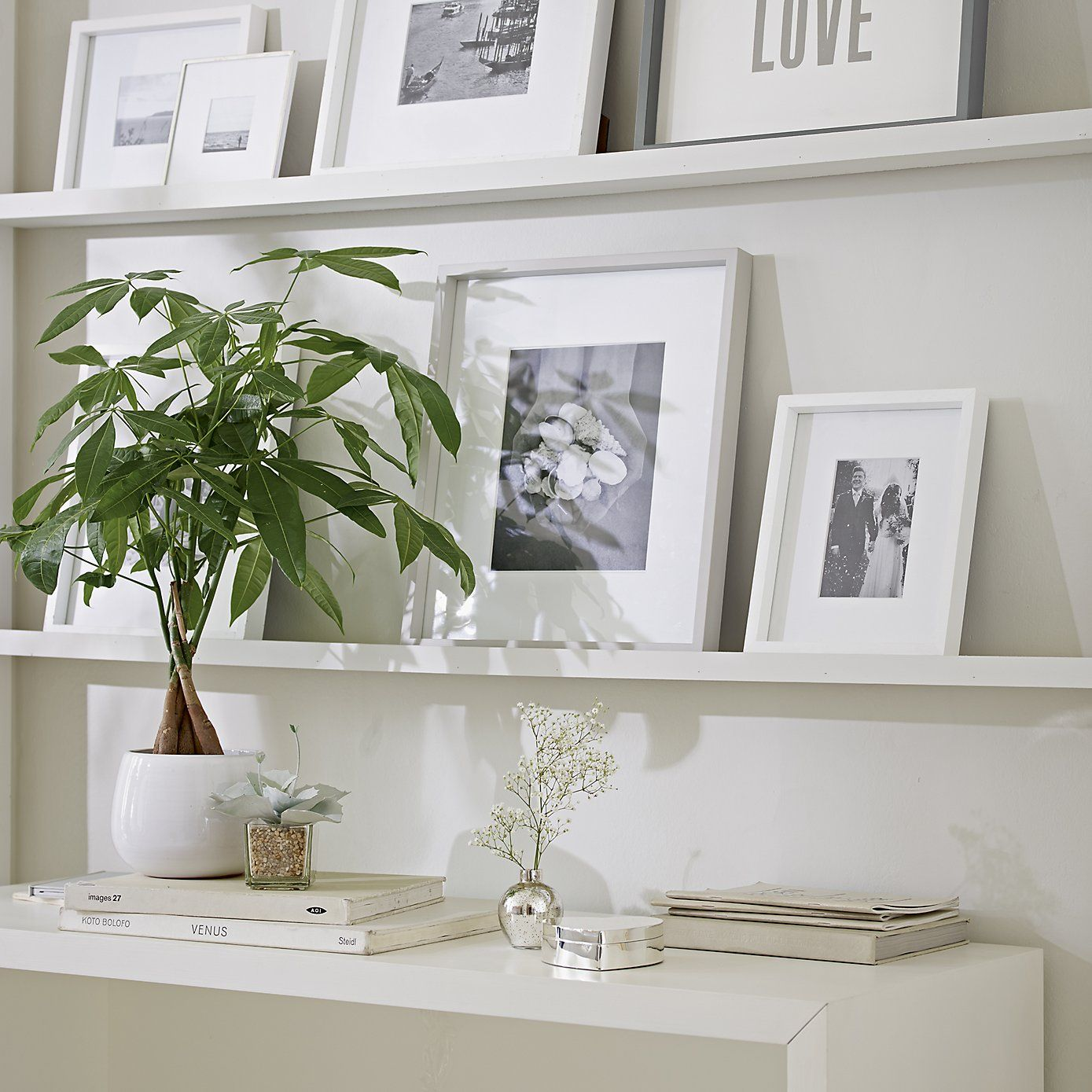 Silver Plated Heart Box | The White Company
