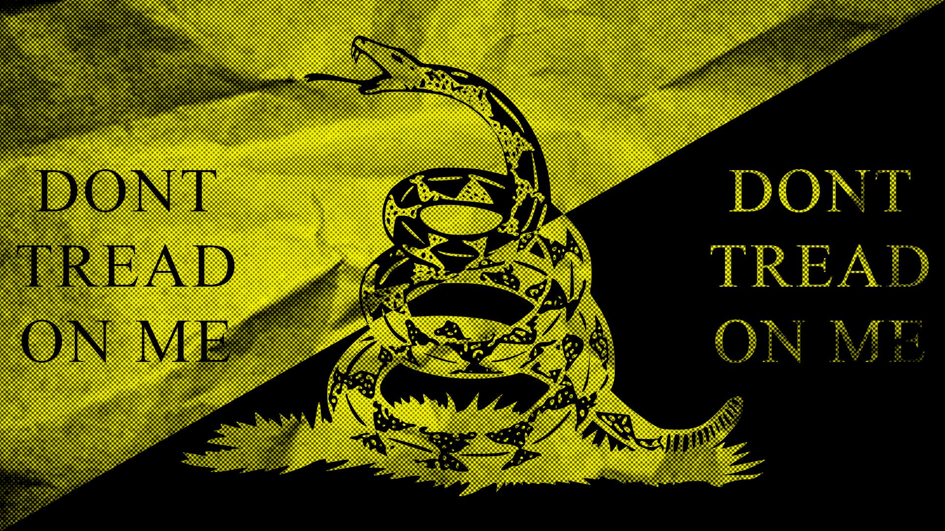 Ancap Gadsden Wallpaper Dont Tread On Me Dont Tread On Me