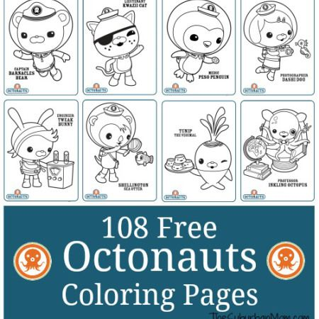 108 Free Octonauts Printable Coloring Pages Octonauts Birthday Octonauts Birthday Party Octonauts Party