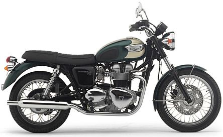 A Modern Day Triumph Bonneville Motorcycle Technologically It Owes