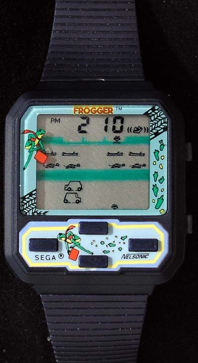 Nelsonic Frogger Game Wristwatch I Own Pinterest Gaming 80