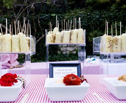 Wedding Ideas Rehearsal Dinner Idea Diffe Flavored Ers For Fresh Corn