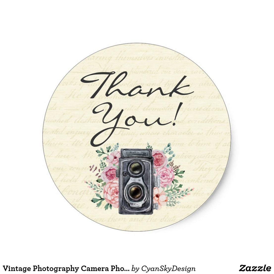 Thank you photographer