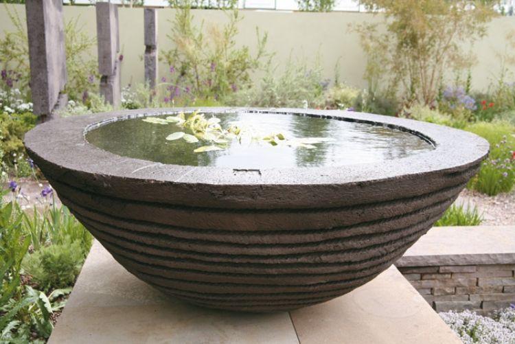 Wundervoll Feng Shui Garten Deko Mini Teich Wasser Stein