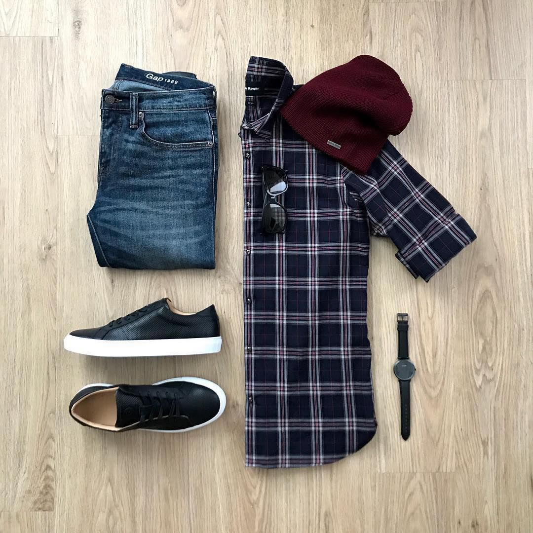 "Menslifestyle247 Outfit Ideas on Instagram: ""Casual Outfit Grid"