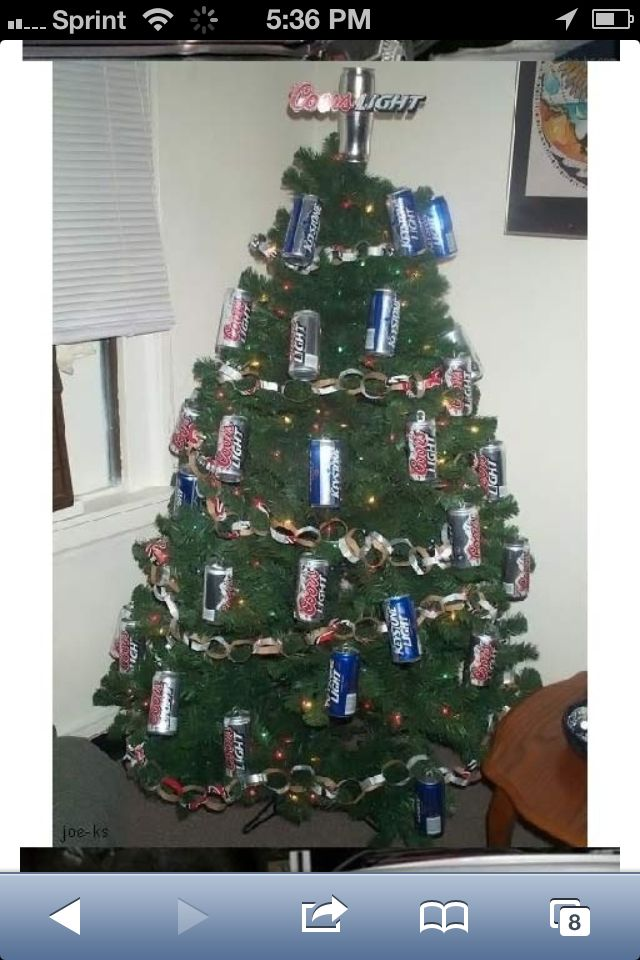 Beer Can Christmas Tree Decorations - Beer Can Christmas Tree Decorations Christmas Pinterest