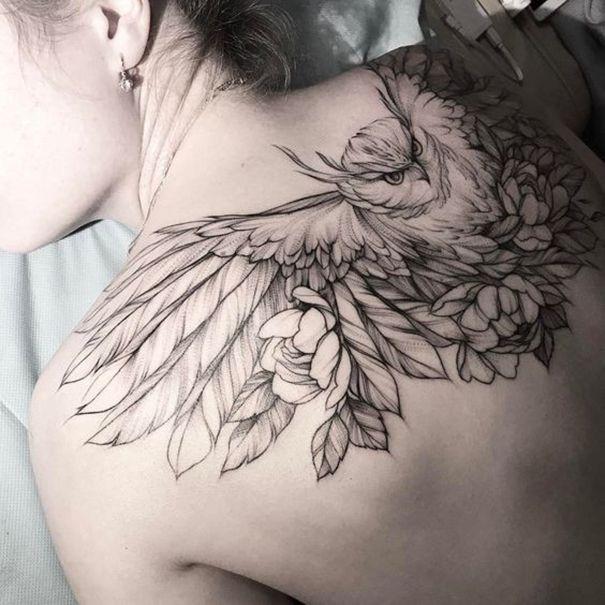 owl tattoo designs meaning best tattoos 2018 designs ideas for men women owl tattoo. Black Bedroom Furniture Sets. Home Design Ideas