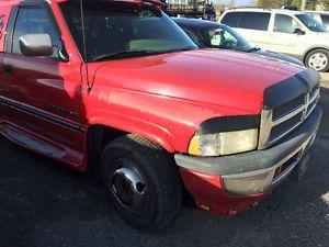 1996 dodge power ram 3500 slt dually v10 pickup truck power ram pickup trucks ram 3500 pinterest