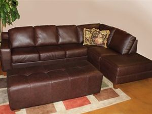 Palliser Reed Leather Track Arm Sectional Is Available At Town Country Furniture Austin