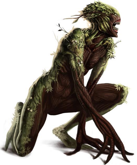 Honey Island Swamp Monster Dark Creatures Swamp Creature Plant Monster