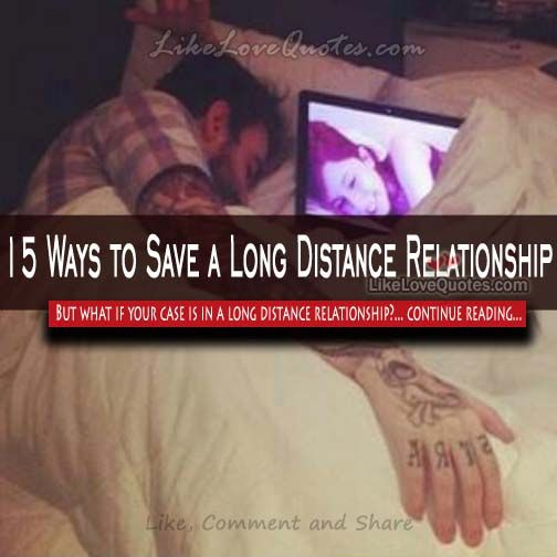 how to save a long distance relationship
