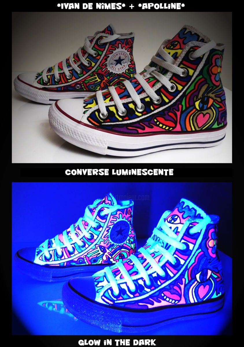 Ivan de Nîmes+Apolline* VS Converse Luminescente (Design