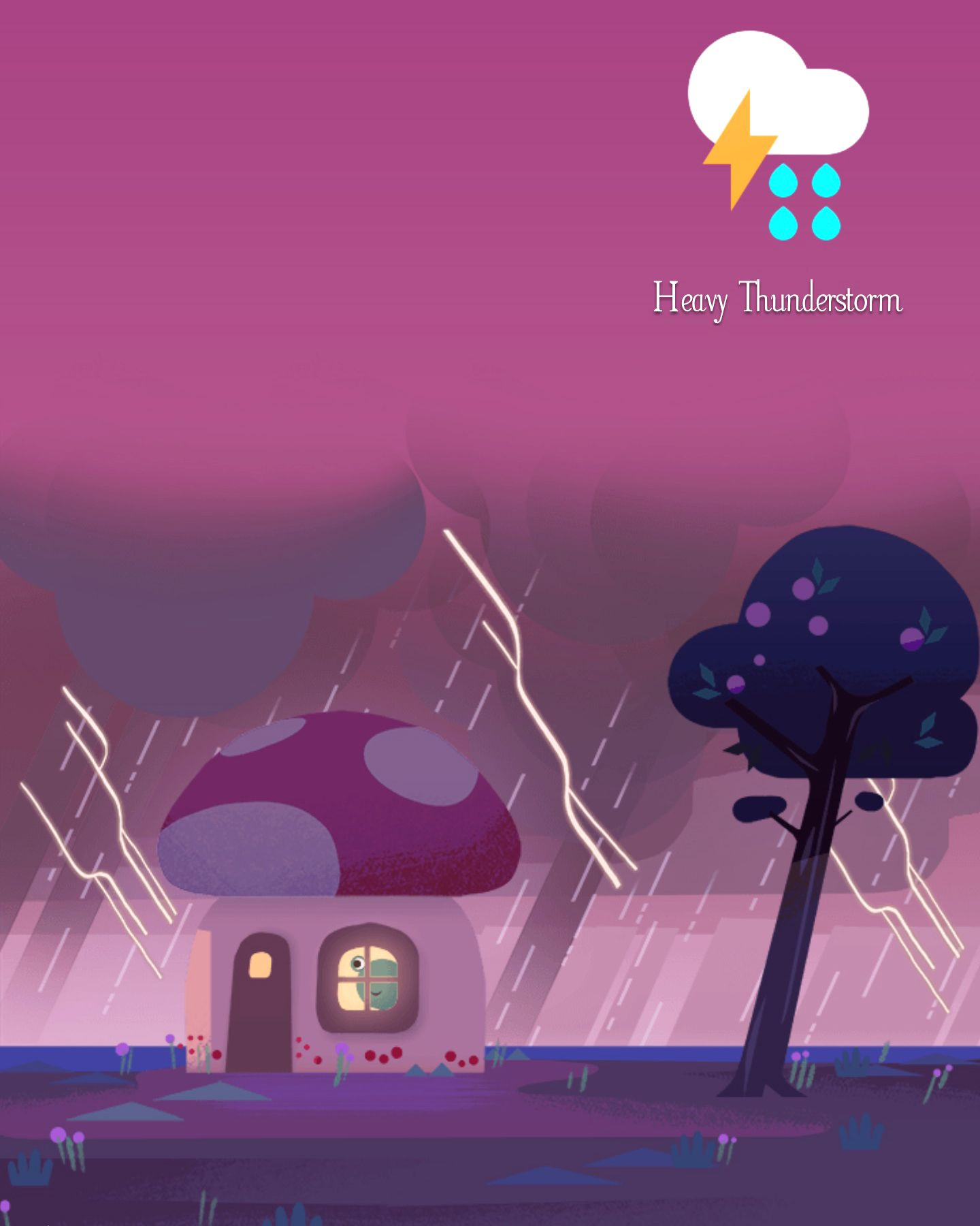 Heavy Thunderstorm Frog Pictures Weather Cards Google Weather