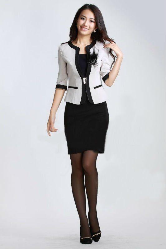 Modelos vestidos cortos para trabajar