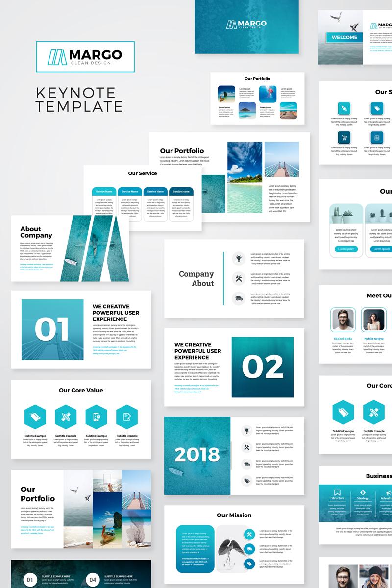 Margo Modern Keynote Template Powerpoint Design