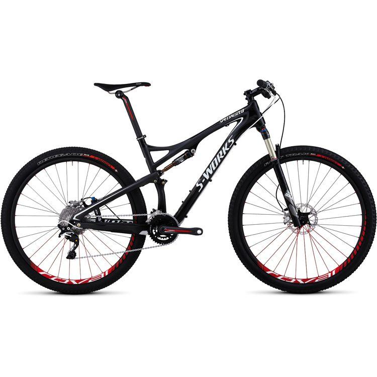 Specialized S Works Epic Fsr Carbon Xtr 29 Svart 2012 Cykel Cykling Och Cyklar