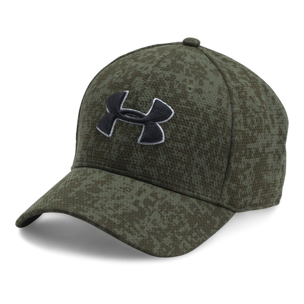 5b36036a2303c Under Armour Men s Printed Blitzing Stretch Fit Cap