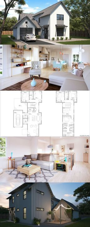 Residential architecture online house plans floor farmhouse also best houses inside and out images facades future home rh pinterest