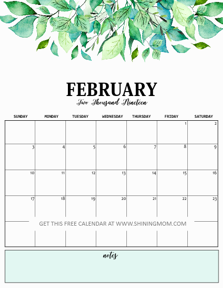 image relating to Printfree Com Calender titled Print Totally free Calendar 2019 with Every day Planner! 2019 Planner