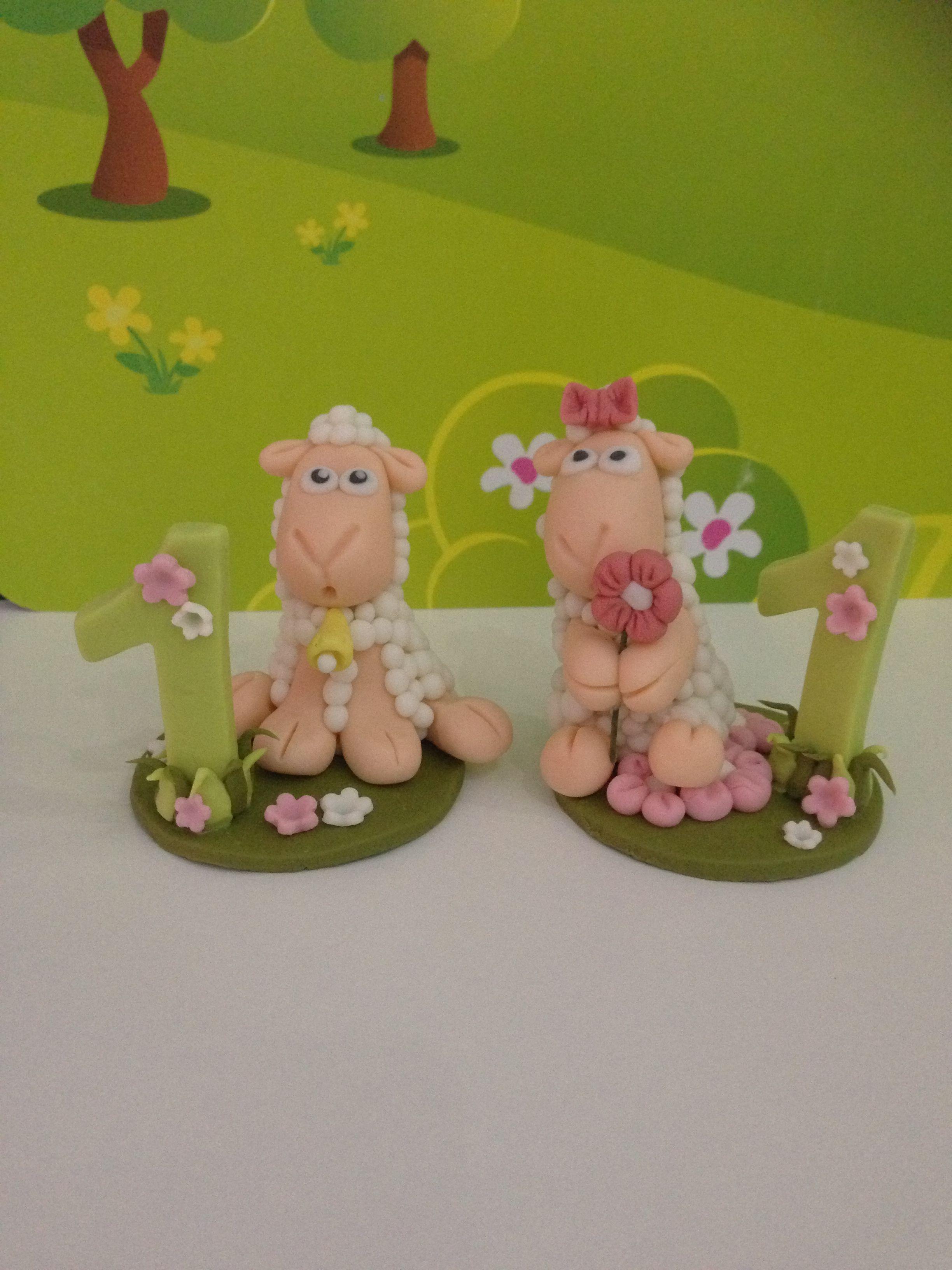 Regalo Primo Compleanno Nipotino bomboniera primo compleanno pecorelle in pasta di mais www