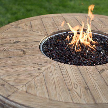 Belham Living Leland 5 Piece Fire Table Patio Dining Set Vozeli Com