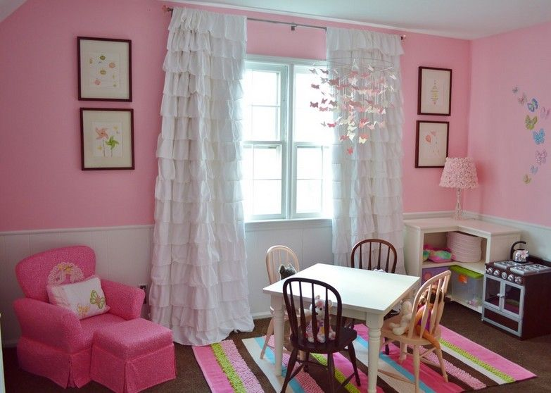 Awesome Curtain Ideas for Girl Bedroom