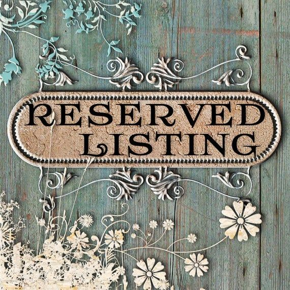 Reserved Repair only in 2020 Etsy shop banner, Etsy