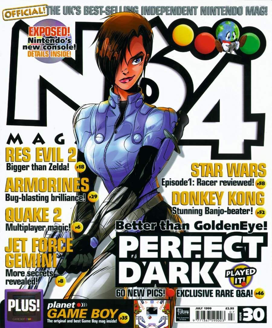 n64 magazine perfect dark