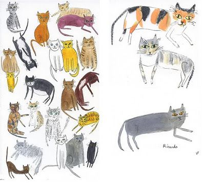 we say meow