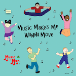 """Congratulations to MaryAnn """"Music with Mar"""" Harman for her Parent's Choice for Music Makes Me Wanna Move"""