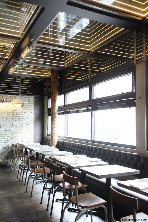 Miller S Near Far Ceiling Design Restaurant Design Cafe Design