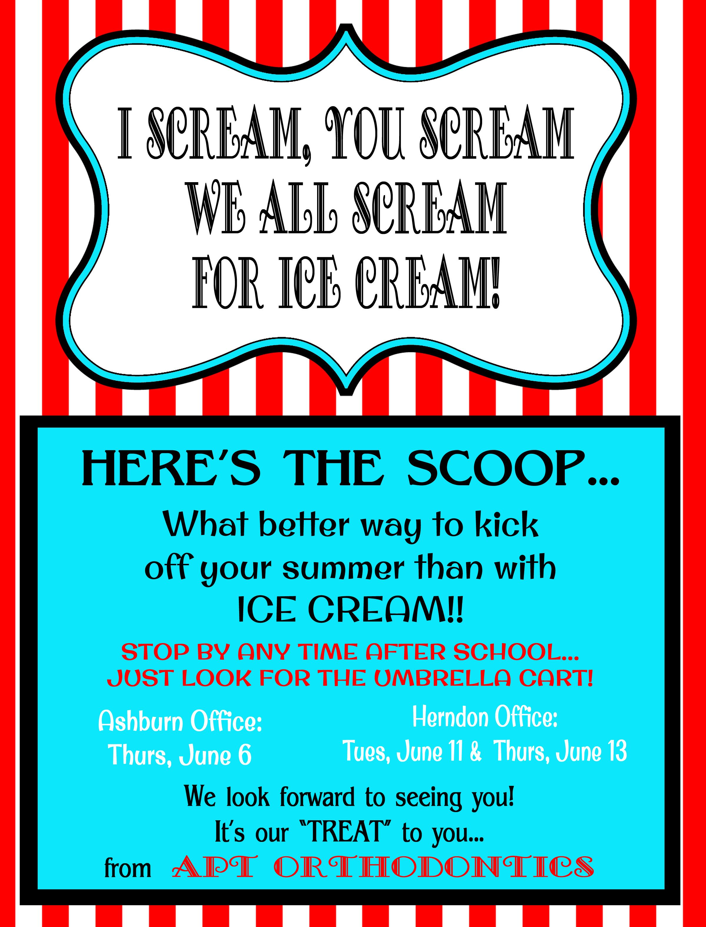 Ice Cream Social Flyer Template | Ice Cream Social Flyer Ice cream ...