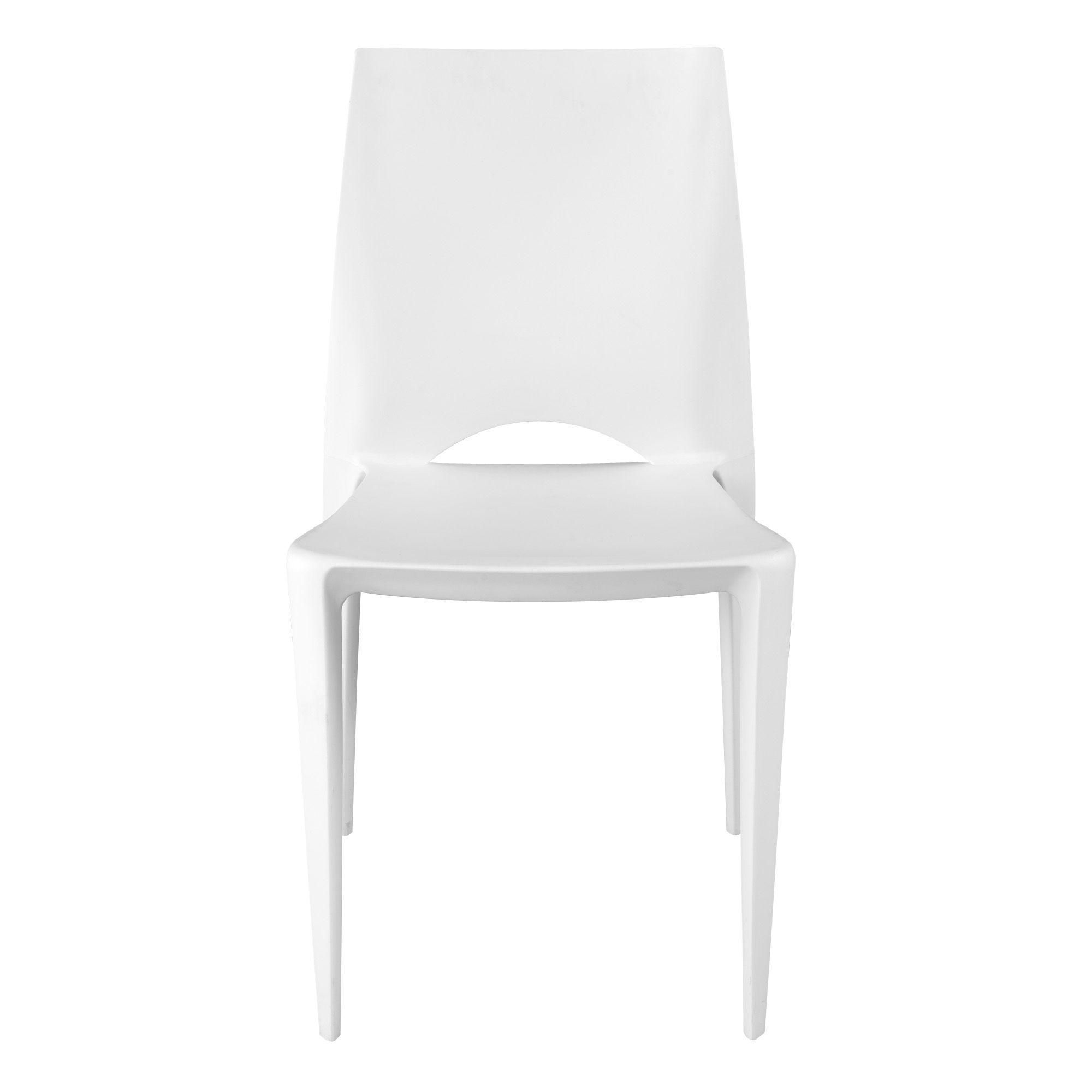 cool chaise moule blanche blanc kiwi chaise les chaises chaises et tabourets consoles with. Black Bedroom Furniture Sets. Home Design Ideas