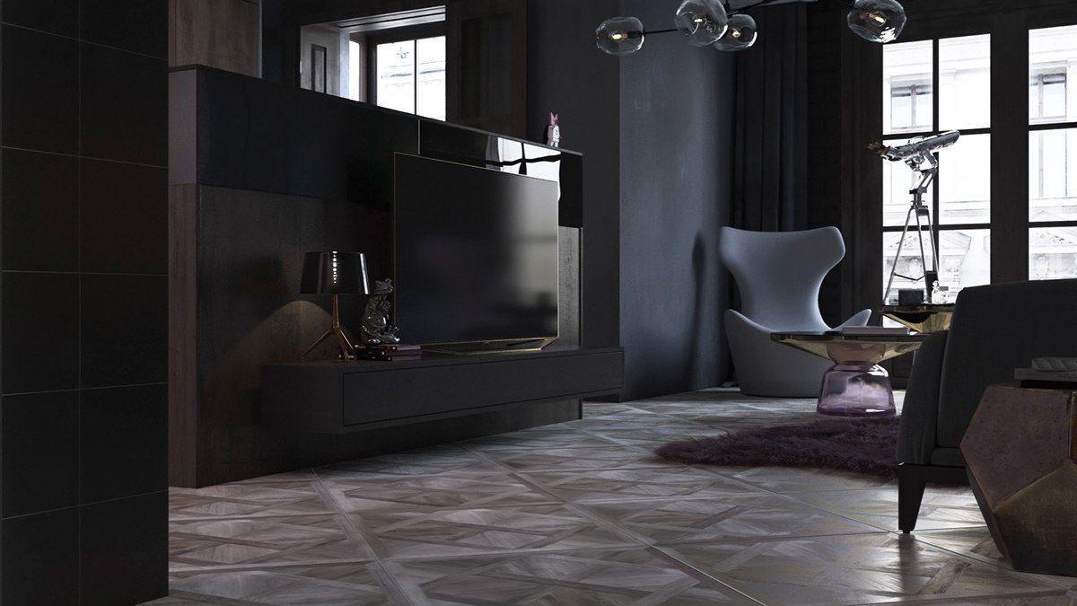 Luxury Styles 6 Dark And Daring Interiors Interior Design Living Room Minimalist Room Interior Design