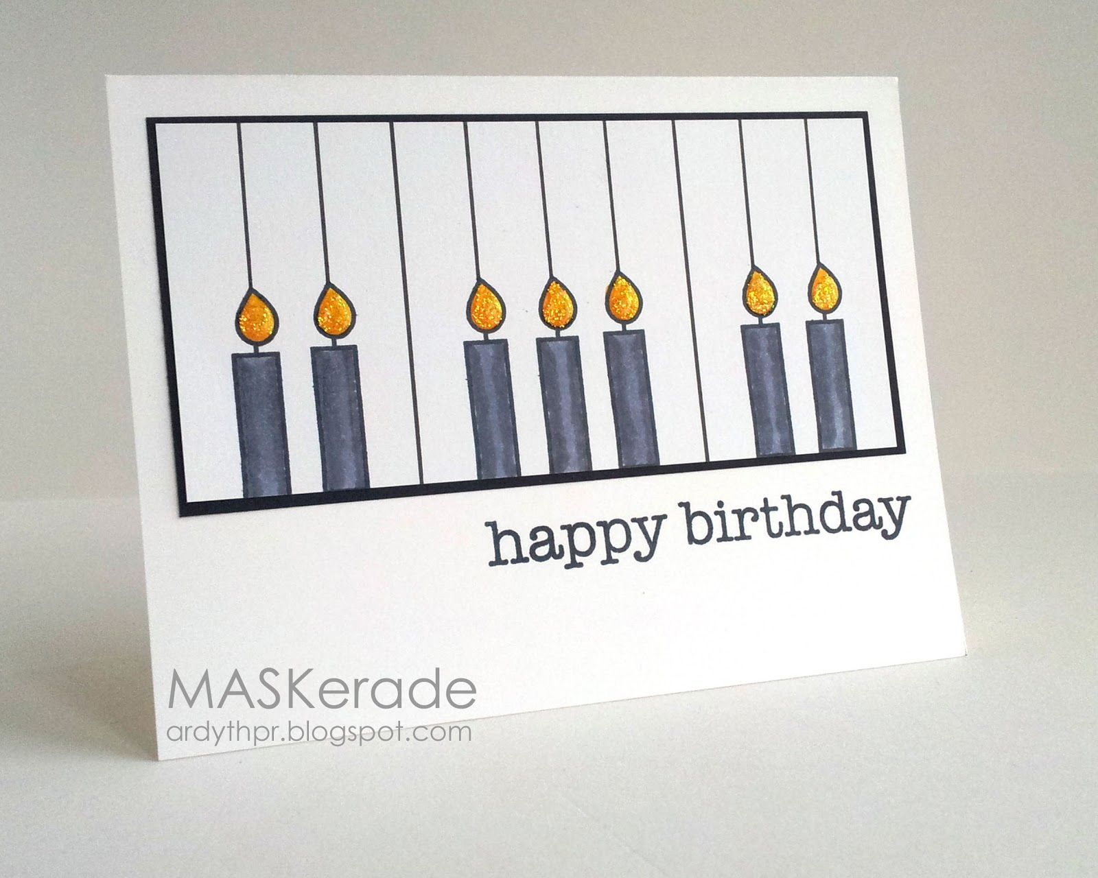 MASKerade US188 Happy Birthday to the Music Teacher – Musical Birthday Greetings